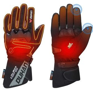 Kemimoto Best Heated Motorcycle Glove