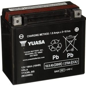 YTX20L-BS Best Motorcycle Battery