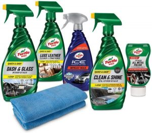 Turtle Wax Motorcycle Cleaning Kit