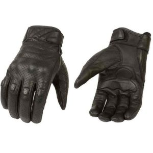 Milwaukee Leather Perforated Cruiser Gloves