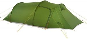 Naturehike Opalus Backpacking Tent 3 Person Lightweight Waterproof Camping Tent With Footprint
