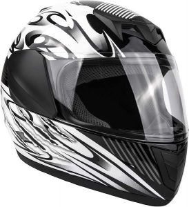 Typhoon Youth Full Face Motorcycle Helmet