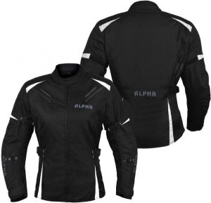 Alpha Cycle Women Motorcycle Jacket