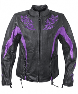 Xelement XS2027 'Gemma Jacket with Armor