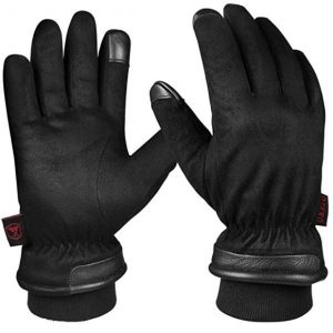 OZERO Winter Gloves Best Waterproof Motorcycle Gloves