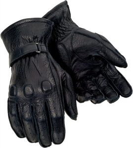 Tour Master Deerskin Motorcycle Gloves
